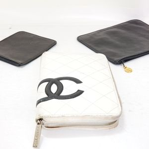 COCO CHANEL 3 WALLET LOT!